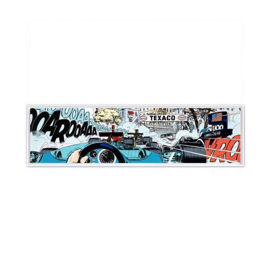 Monaco Start – Papier Fine Art en caisse américaine blanche