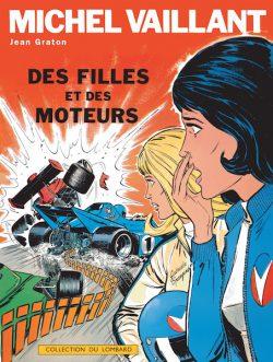 Michel Vaillant 25 Couverture Des filles et des moteurs