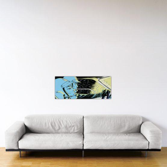 Monte-Carlo Night – Dibond sous plexiglas – Format: 40x100 cm