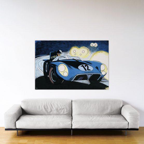 Le Mans '57 - Dibond sous plexiglas - 100x150 cm