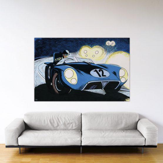 Le Mans '57 - Dibond sous plexiglas - 120x180 cm