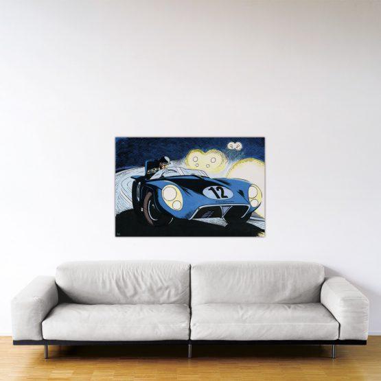 Le Mans '57 - Dibond sous plexiglas - 80x120 cm