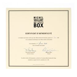 Michel Vaillant Art Strip Box