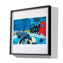 Michel Vaillant Art Strips Box Encadrement