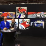 Michel Vaillant Art Strips | Exposition | Rétromobile 2019
