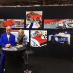 Michel Vaillant Art Strips | Exposition | Rétromobile 2019
