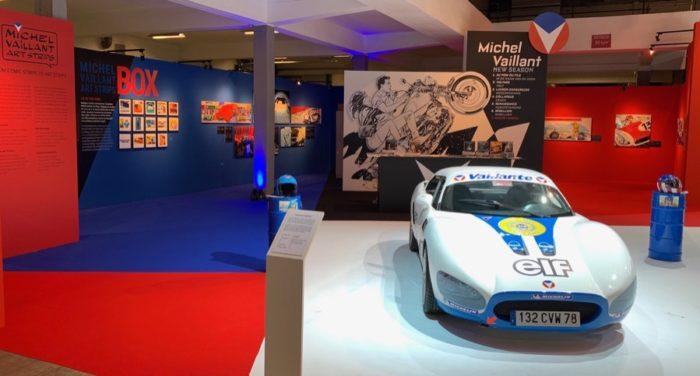 Michel Vaillant Art Strips | Exposition | Salon Auto Moto de Bruxelles