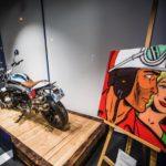 Michel Vaillant Art Strips | Exposition | BMW Motorrad à Paris