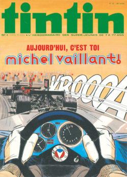 Michel Vaillant Tintin 1974 Couv