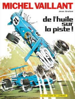 Michel Vaillant 18 Cover De Lhuile Sur La Piste