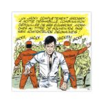 Jacky superstar – Dibond sous plexiglas