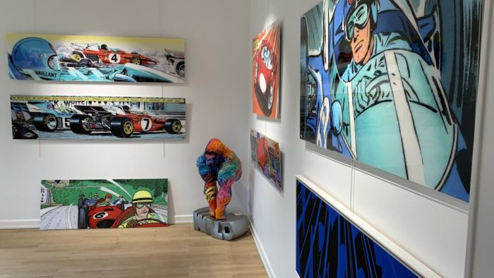 Michel Vaillant Art Strips | Exposition | Le Castel à Luxembourg