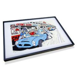 Michel Vaillant Art Strips Box 24h Mans Encadrement